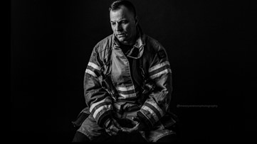 7's Hero: Nampa firefighter's powerful photos reveal the pain of Post Traumatic Stress Injury
