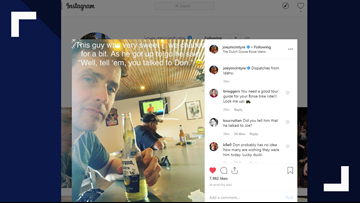 Joey McIntyre of New Kids On The Block posts selfie at the Dutch Goose in Boise