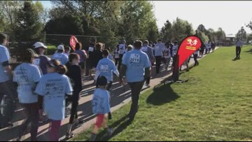 Hundreds line for Dash for Donations to raise awareness or eye, tissue and organ donations