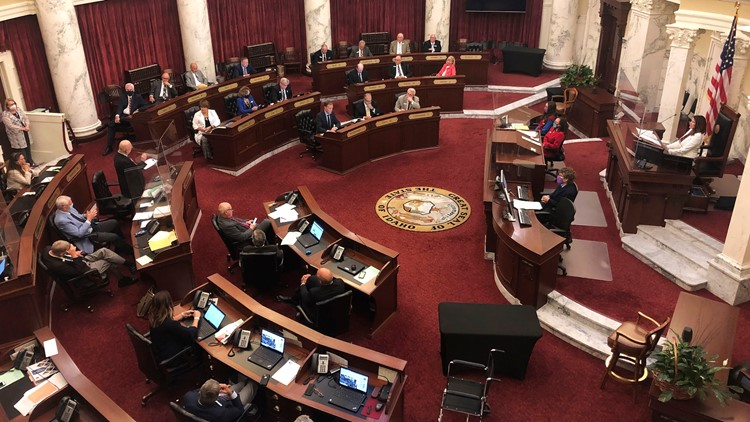 Idaho Senate OKs plan for lawmakers to call special sessions
