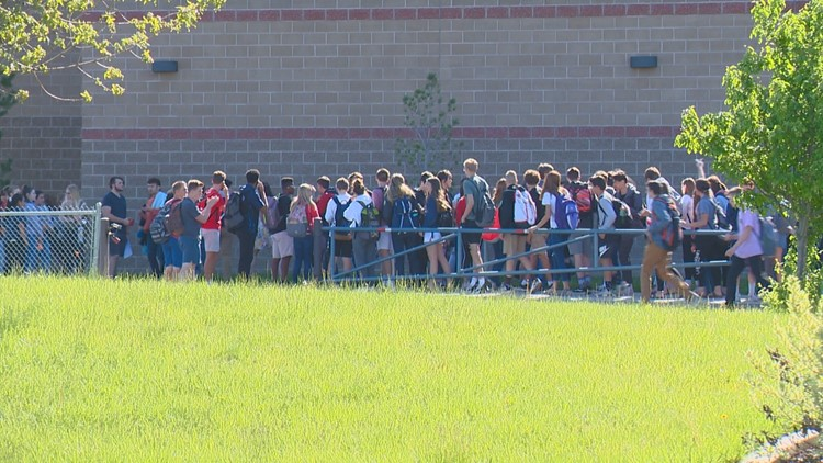 Middleton high school student walk out