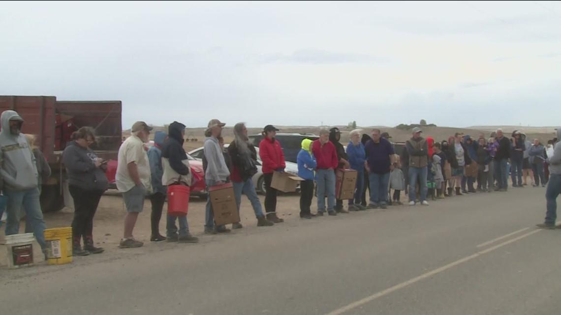 Oregon produce farm gives 5,000 people free asparagus