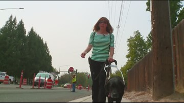Boise construction zone tricky for people with disabilities