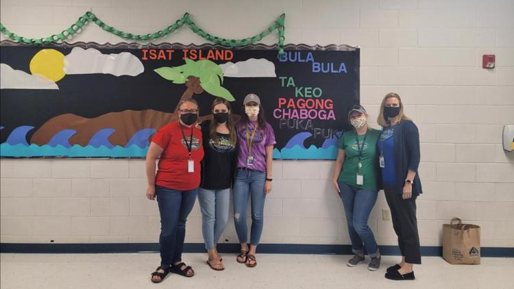 ISAT Island creating confidence: 'They all support each other'