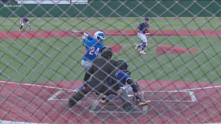 Boys State Baseball highlights - Rocky Mountain vs. Coeur d'Alene