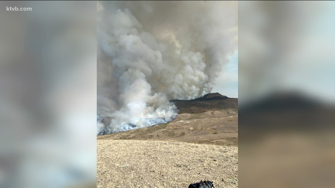 Evacuations ordered as Badger Fire spreads