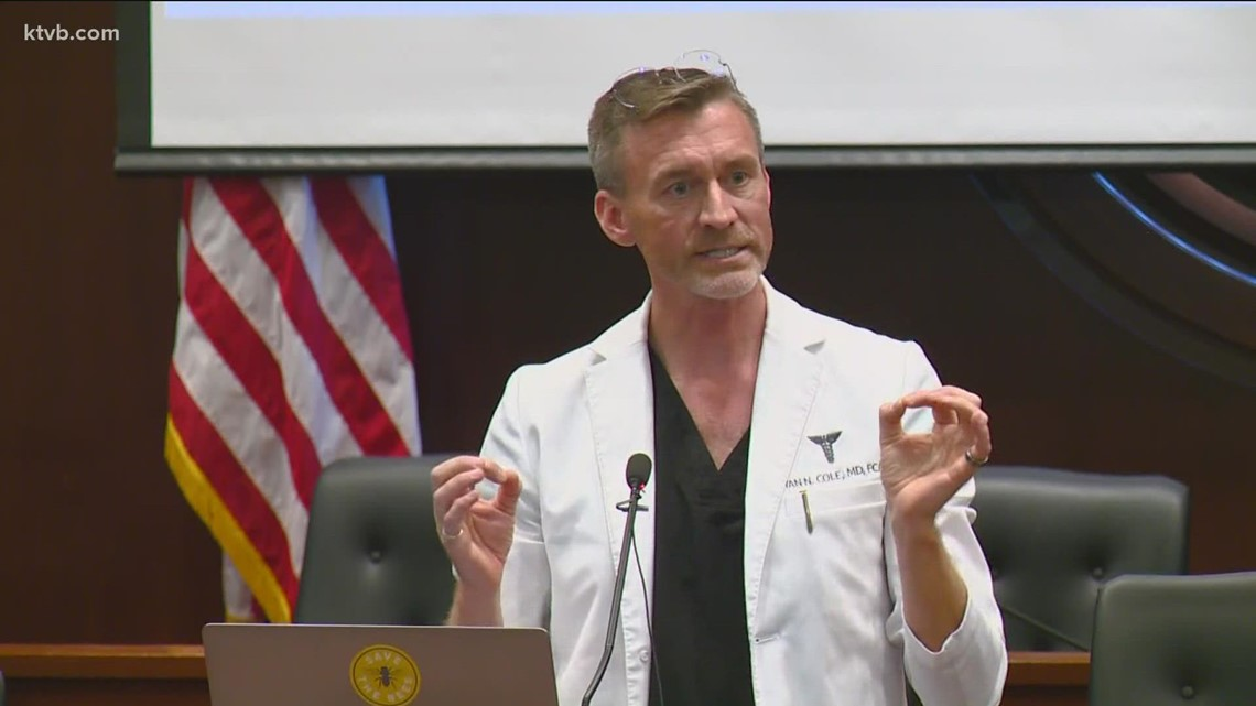 Dr. Ryan Cole investigated by Washington Medical Commission - KTVB.com