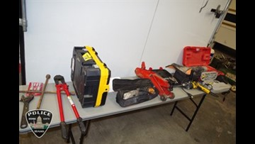 Hundreds of stolen items recovered, man suspected in 20 home burglaries in Boise area
