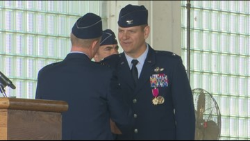 Change of command for 366th Fighter Wing