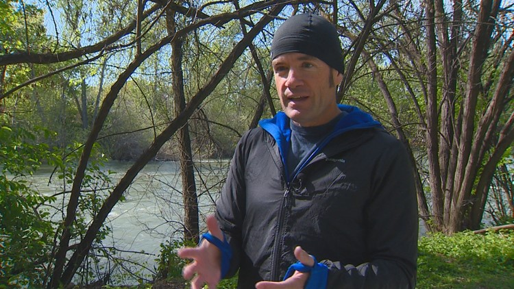 New York man plans to swim all 150 miles of the Boise River
