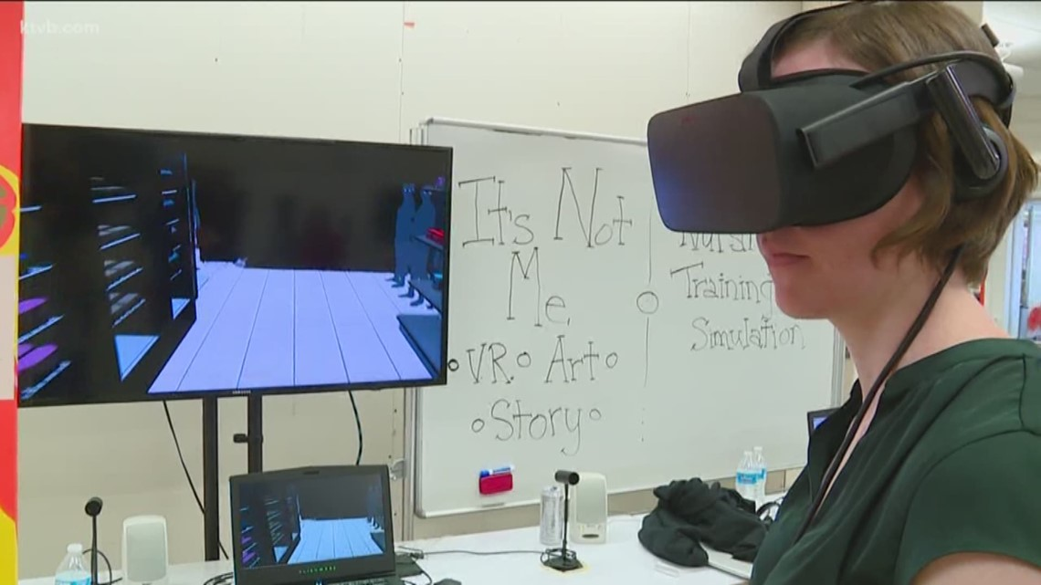 Boise State students build virtual reality programs to help encourage social change