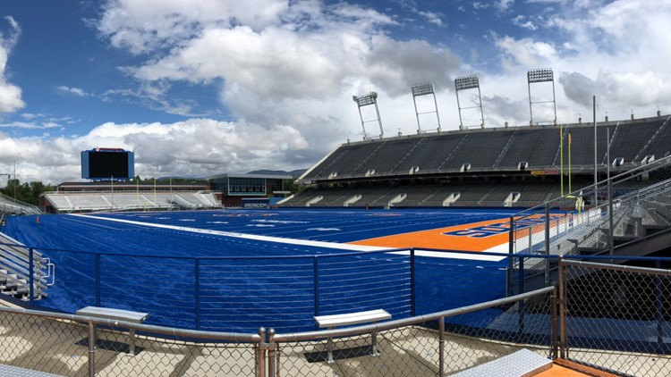 Guests barred from Bronco practice due to COVID; on return to 'normal,' Avalos says 'we're not close'