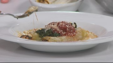 KTVB Kitchen: How to make chicken manicotti with marinara and cheese sauce