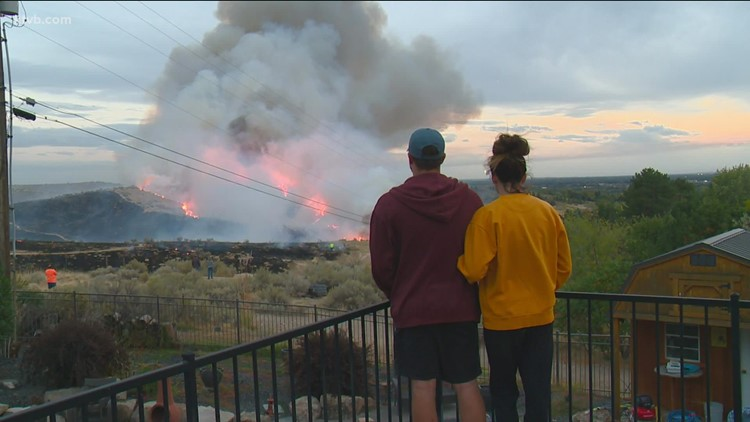 Firefighters knock down Goose Fire in the Boise Foothills