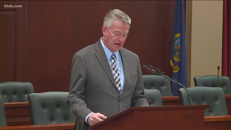 Idaho Gov. Little repeals lieutenant governor's mask mandate ban