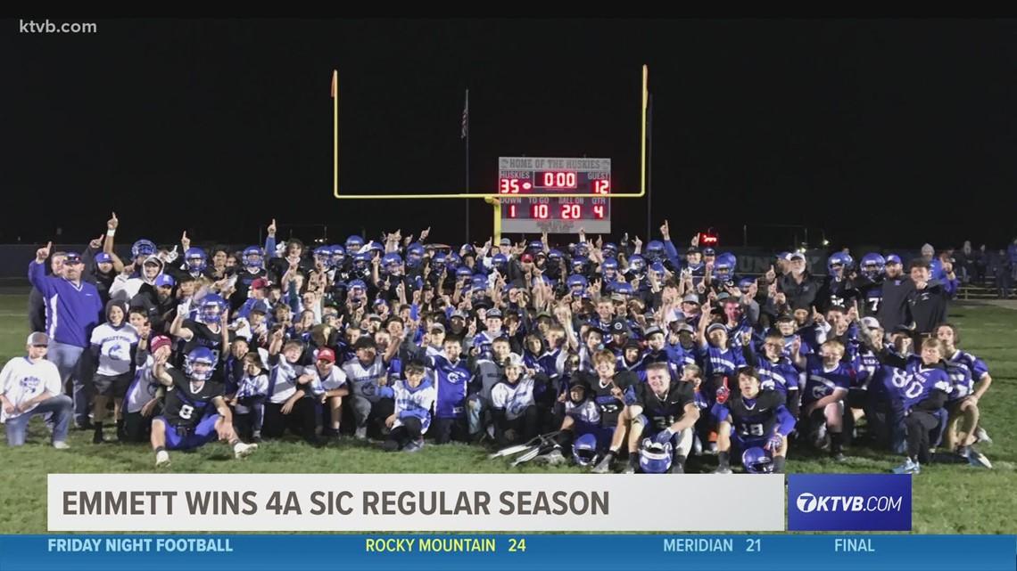 Friday Night Football: Emmett Huskies win the 4A SIC regular season
