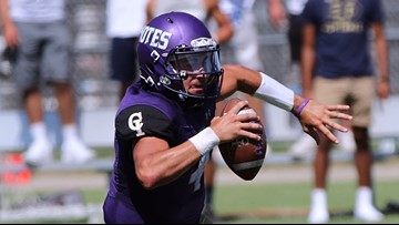 No. 10 College of Idaho's senior quarterback rewrites the record books