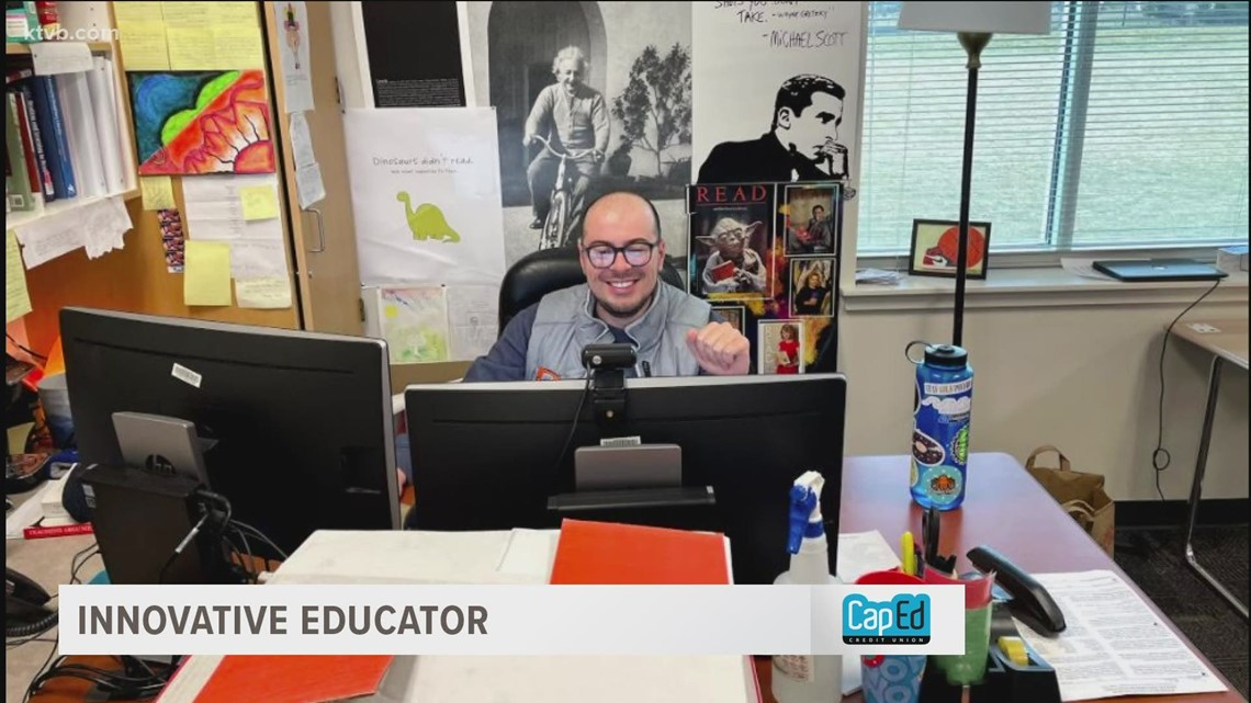 Boise teacher overcomes connection conundrum