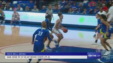 HIGHLIGHTS: Boise State vs. San Jose State women's basketball