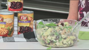 KTVB Kitchen: How to include beans into a healthy diet with a Greek Salad