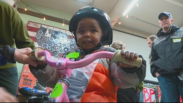 Boise Bicycle Project donates bikes to kids for the twelfth year