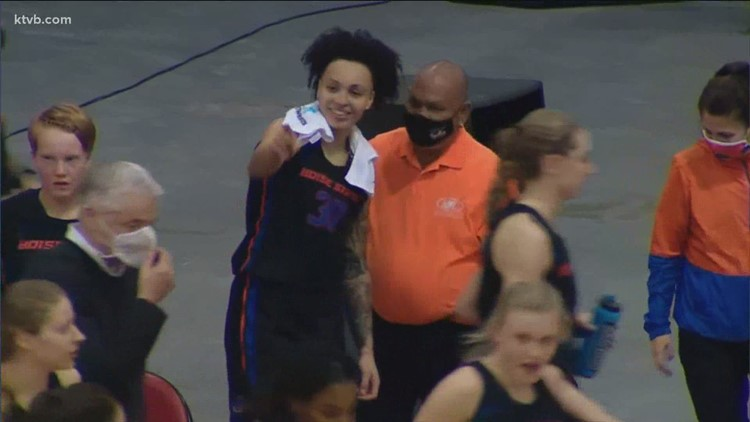 Jade Loville becomes first woman in Boise State history to score 40 points in a game