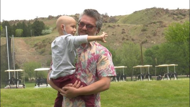 Boise boy battling spinal tumor gifted with 'family of support' and more