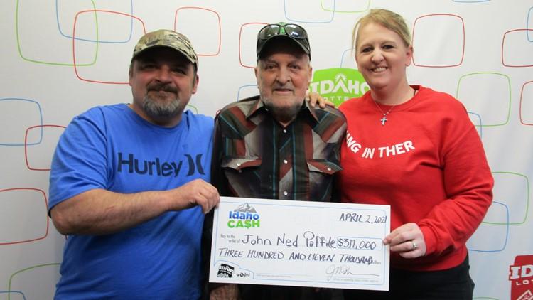Retired truck driver wins $311K lottery jackpot