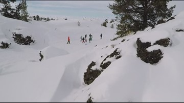 Not just a summer destination, Idaho's Craters of the Moon offers 'surreal' winter fun too