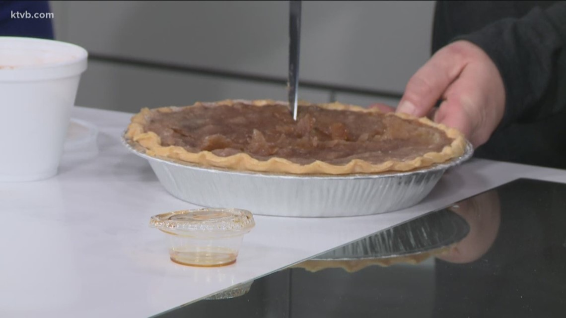 Boise Pie Co.'s Sugar Cream Pie is a perfect treat to celebrate Great American Pie Month