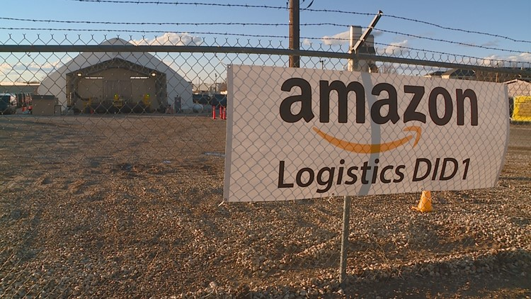 Amazon Logistics Hub in Nampa