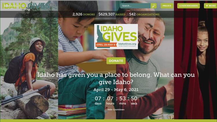 Idaho Gives starts weeklong giving campaign