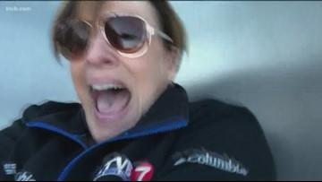 WATCH: Riding the mega-slide at JUMP