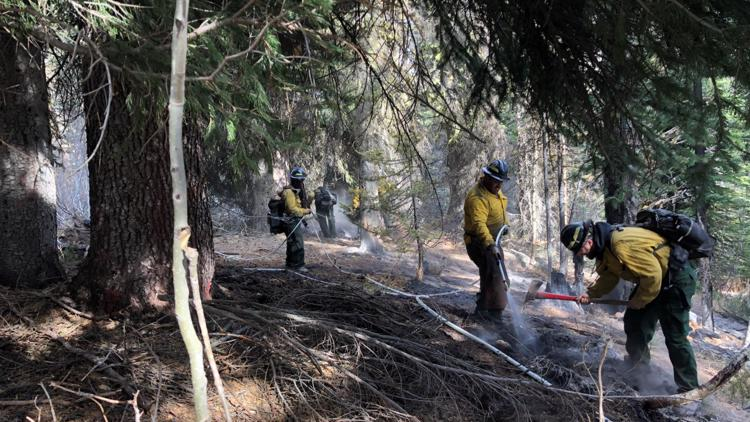 West State Fire near Tamarack now 100% contained