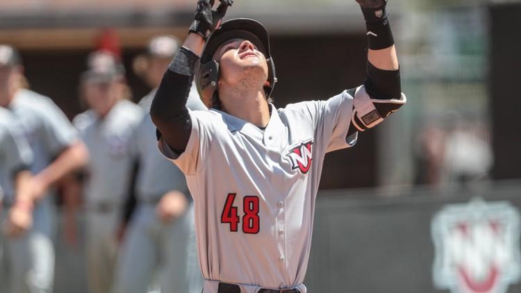 Payne homers twice in surprising championship game start for Northwest Nazarene baseball team