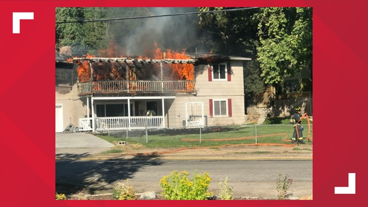 Hill Road house fire