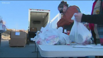 Scouting For Food fills Treasure Valley food banks