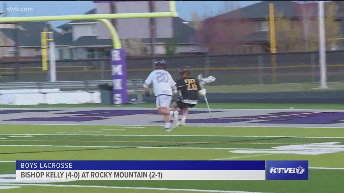Rocky Mountain hosts Bishop Kelly in boys lacrosse play