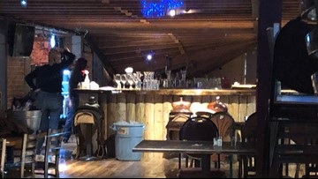 Loft partially collapses inside Caldwell steakhouse