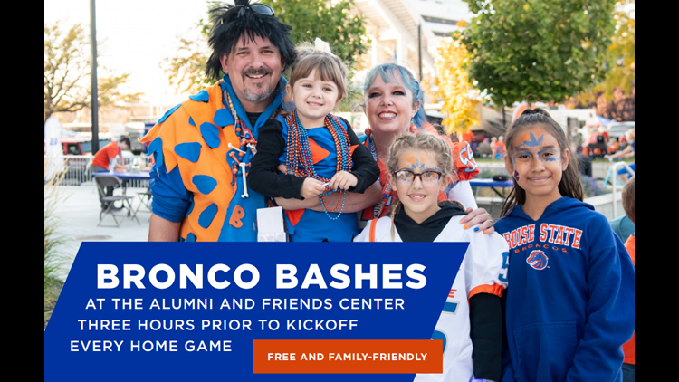 Bronco Bashes with the Alumni & Friends Center!