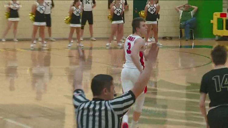 4A Boys State Basketball Semifinals: Kuna vs. Moscow