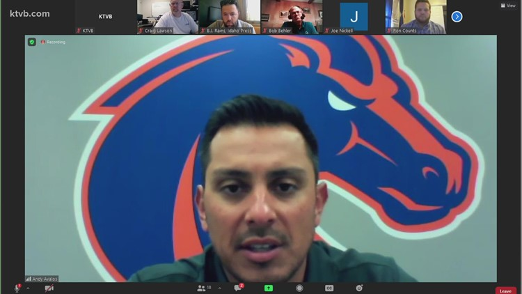 Watch: Andy Avalos and Boise State coaches speak about Fall Camp, UCF