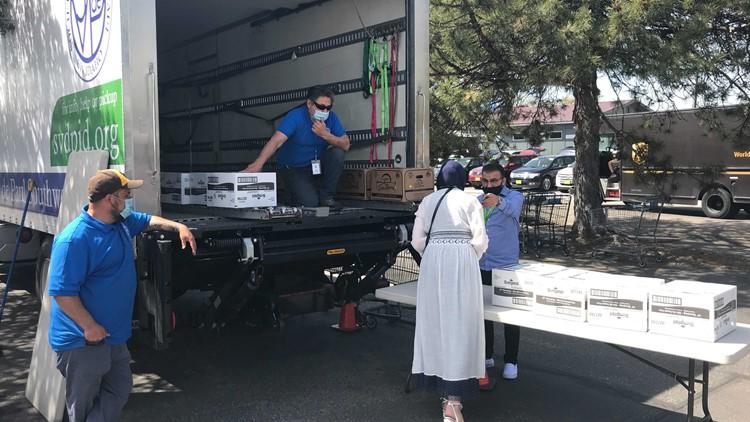 St. Vincent de Paul hosts mobile food pantry at new Boise office