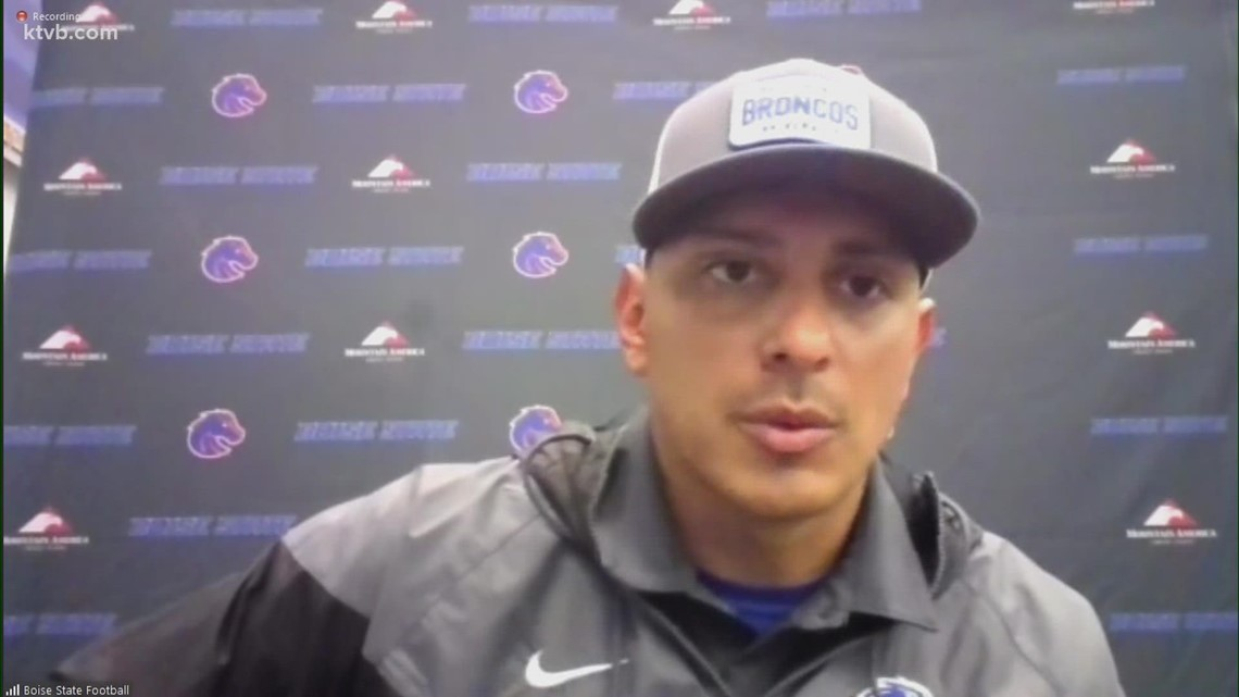 Boise State HS Andy Avalos talks Broncos' loss against Oklahoma State