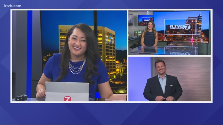 KTVB's Shirah Matsuzawa, Bri Eggers and Jay Tust wish their mothers a Happy Mother's Day