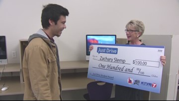 Just drive video contest runner up: Zachary Slemp