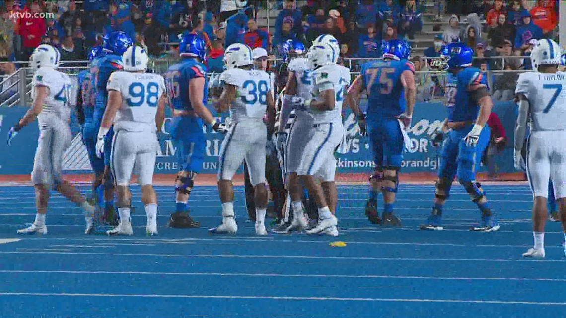 Boise State player describes the Broncos' loss to Air Force