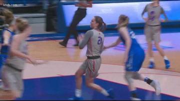 HIGHLIGHTS: Boise State vs. Air Force women's basketball 1/23/2019