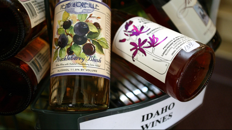 Idaho Huckleberry Wine