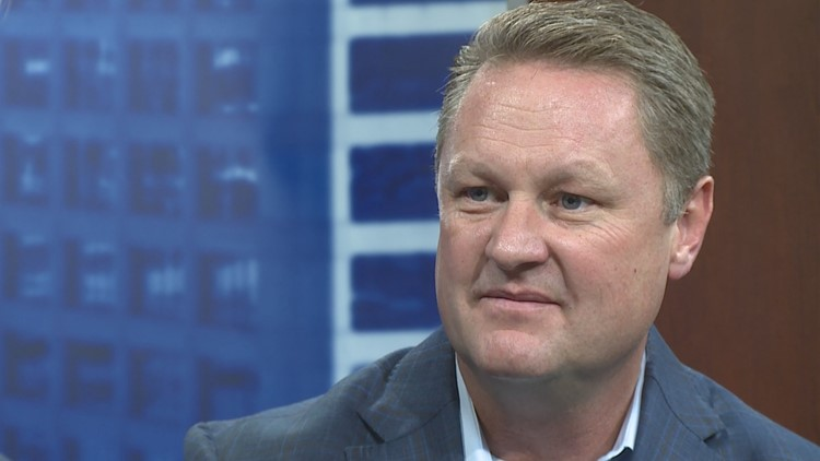 The Republican candidate for governor says he wants to reduce wasteful spending in government.